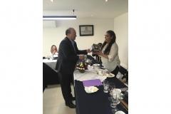 Entrega de reconocimientos al Comité Organizador  de la XXXIII Convención Internacional de Minería