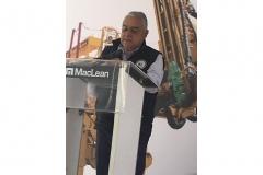 El Ingeniero Salvador García, Presidente del CDN de la AIMMGM, participó en la inauguración de la fábrica de equipos para minería subterránea de MacLean Engineering  el 24 de febrero del 2020 en Querétaro. El acto contó con la presencia de Don MacLean, fundador de MacLean Engineering y Francisco Quiroga,  Subsecretario de Minería del Gobierno Federal, entre otras personalidades.