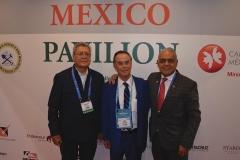 Inauguración del stand del Pabellón de México