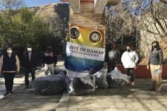 El Comité de Damas del Distrito Guanajuato, representado por las Sras. Ana Isabel de León y Angeles Godoy, presidenta y tesorera respectivamente,  hizo entrega de cobijas y ropa invernal a la comunidad de Rosa de Castilla.
